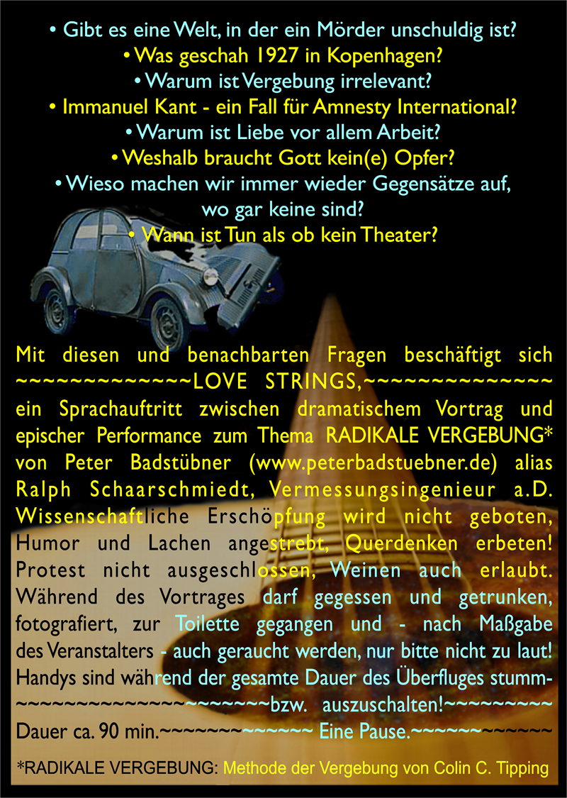 LOVE STRINGS Promo Text